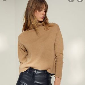 Wilfred Cyprie Camel Sweater Size XS